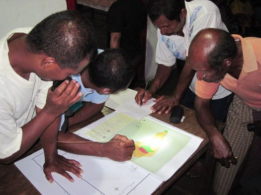 Mapping - LMMA - Kei Island, Indonesia