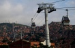Medellin, Comuna 13, MetroCable in 2009. Photo by Omar Uran.